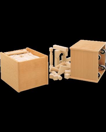 Rollcontainer gefüllt