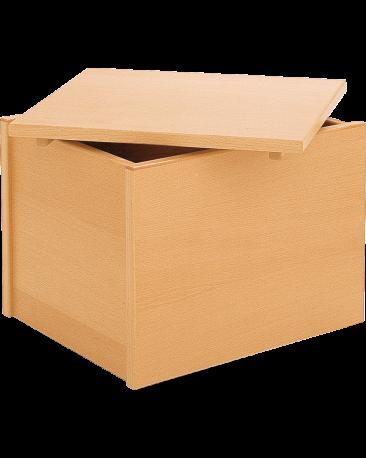 Rollcontainer gefüllt, mit Deckel