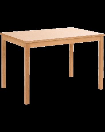 Tisch mit Massivholzplatte, 120 x 80cm
