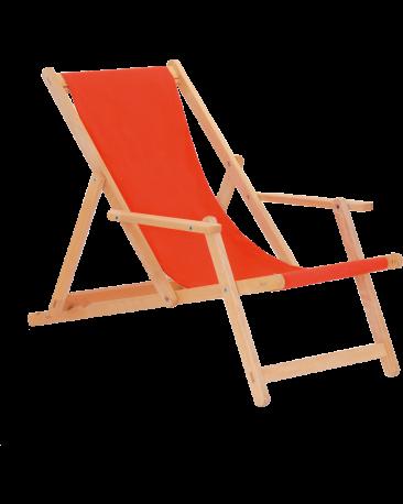 Liegestuhl gross, ohne Fussteil