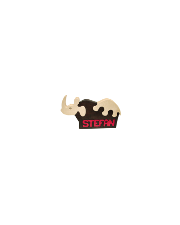 Tierli mit Vornamen, Nashorn farbig