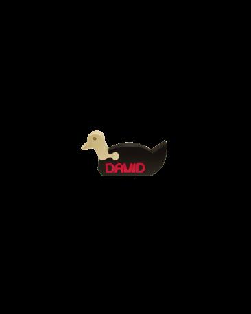 Tierli mit Vornamen, Ente farbig