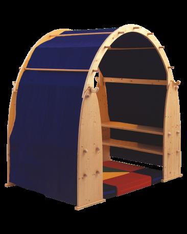 Stoffdach zu Spielhaus, 1-farbig