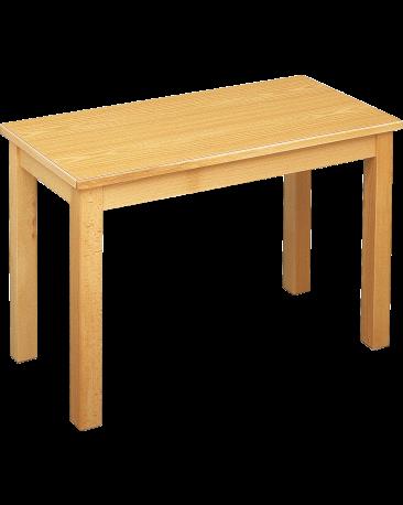 Spieltisch mit Massivholzplatte, 120 x 90cm
