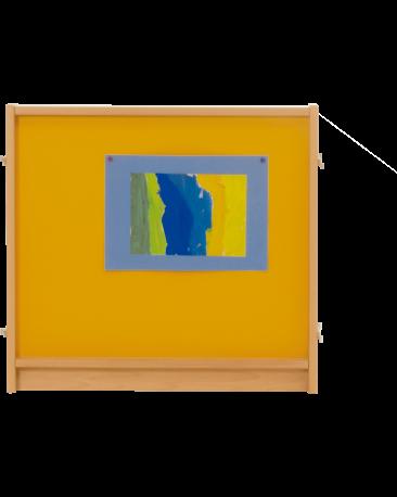 Stellwand,  Magnetbelag, Höhe 57cm