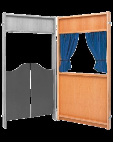 Stellwand, Fenster, Kork einseitig, Höhe 157cm