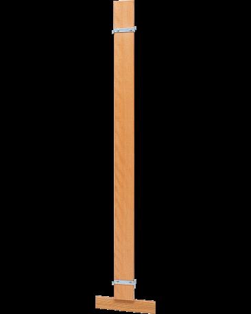 Wandanschluss-Pfosten