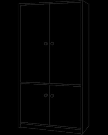 Wandschrank
